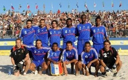 beach soccer france Gaillaud